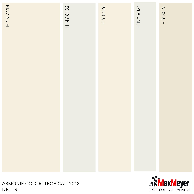 abbinamenti colori neutri vernici maxmeyer