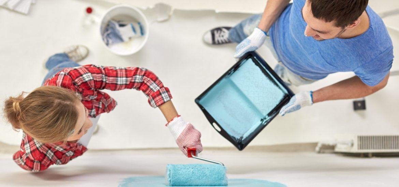 Dipingere le pareti di casa è terapeutico: i colori da scegliere per il buon umore