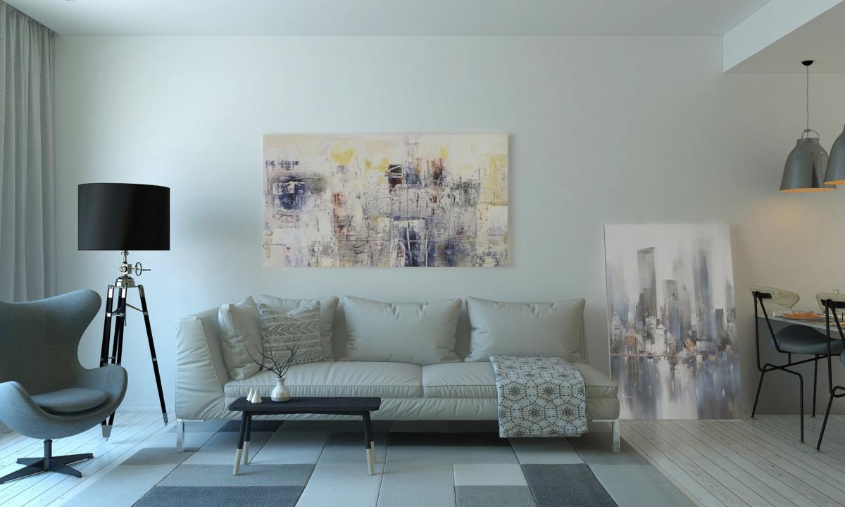 il grigio è il colore più usato nell'interior design