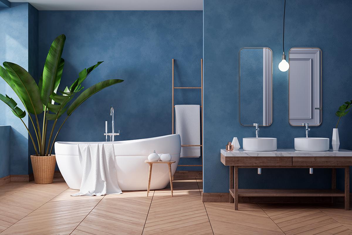 Tinteggiare il bagno: cicli e soluzioni ottimali e durature