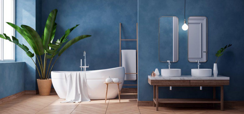 Qual è il colore più adatto a tinteggiare le pareti del bagno?