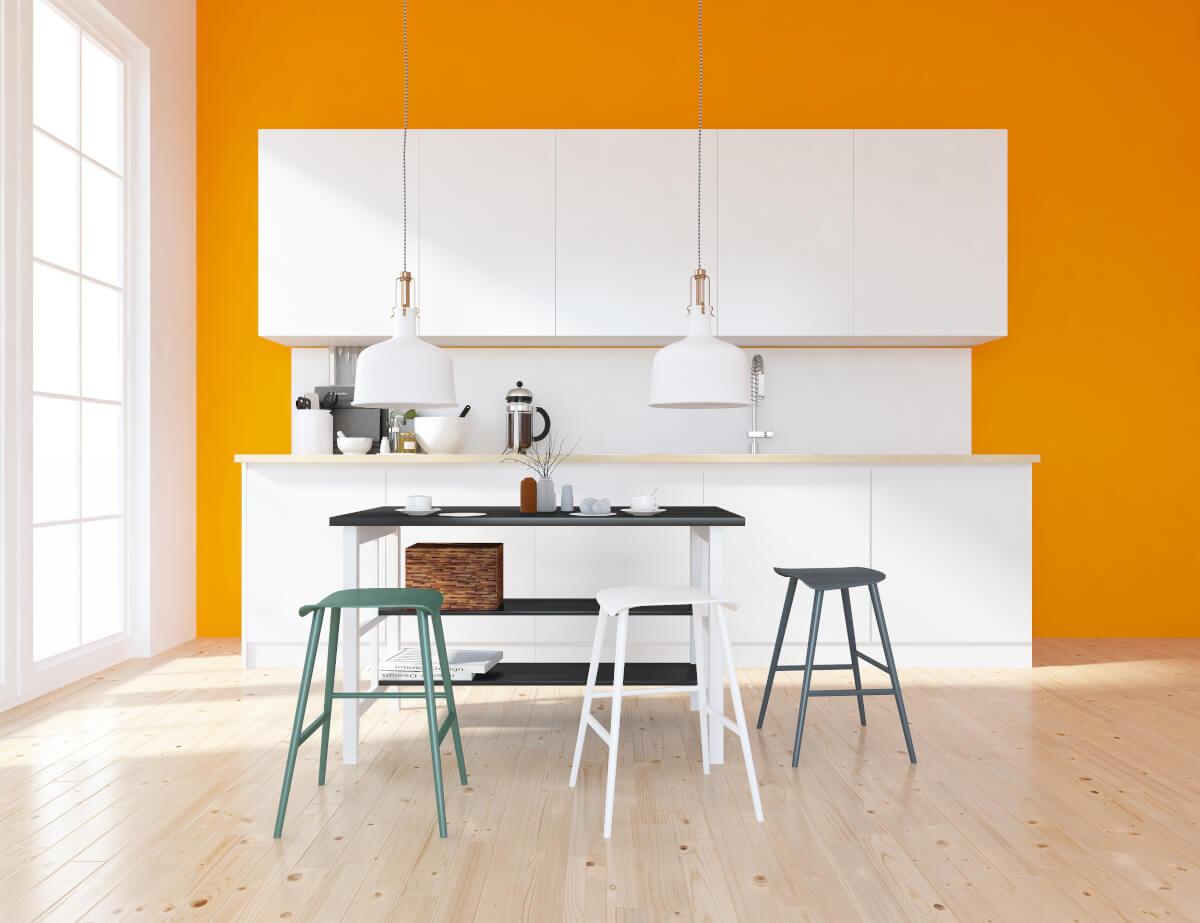 Qual è il colore più adatto a tinteggiare le pareti della cucina?