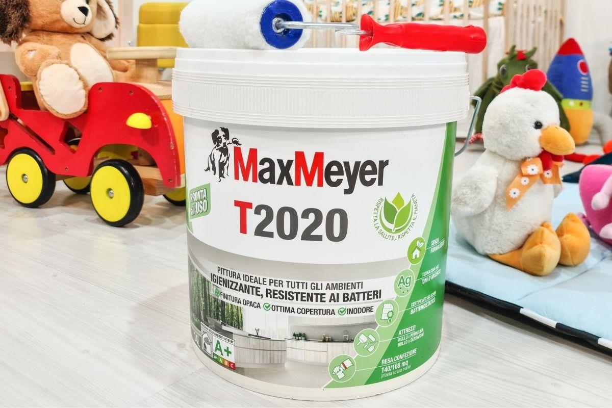 T2020 la pittura igienizzante e antibatterica per le pareti di casa