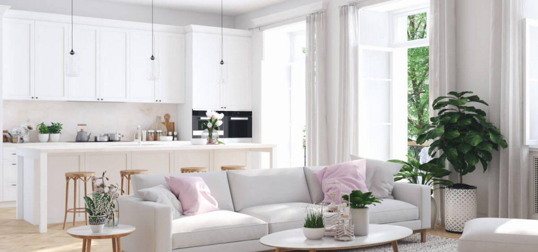i colori per rendere una stanza più luminosa