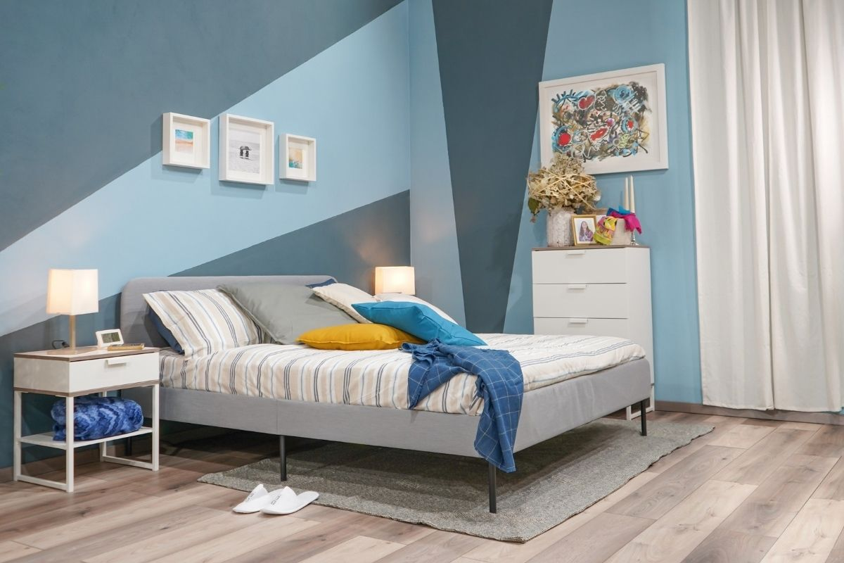 Come dipingere le pareti della camera da letto con Home Color