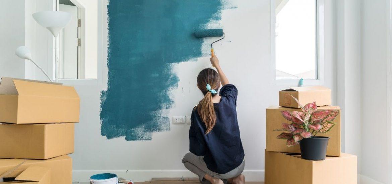 La temperatura ideale per tinteggiare le pareti di casa