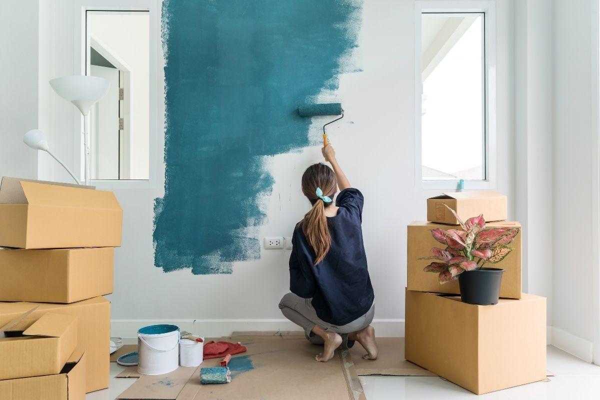 Qual è la temperatura ideale per tinteggiare le pareti di casa?